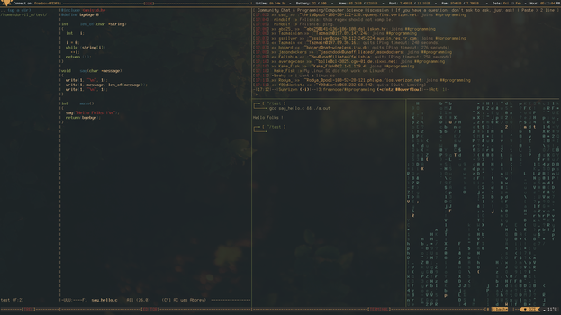 Archlinux - Interface by surfwix