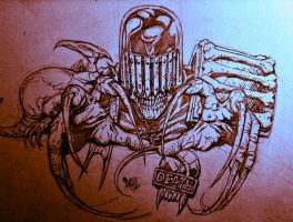 Judge Death by DanielDahl