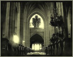 Cathedral - interior vintage by Andrei-Joldos