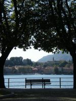 Lake of Lecco_bench2 by kingnilo