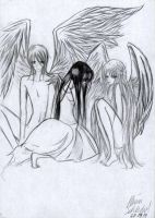 Three Angels by Serihalt