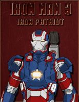 Iron Man 3: Iron Patriot armor by tremor209