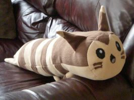 Furret Plush Pokemon by FreshCrayons