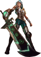 Redeemed Riven transparent background by 77SilentCrow