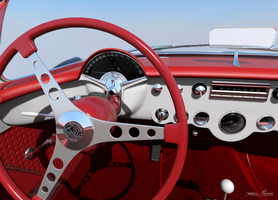 57' Vette interior 3 by RayMontes