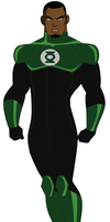 New Green Lantern (John Stewart) by AMTModollas