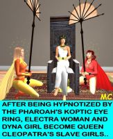 Cleopatra's Electra Slaves by The-Mind-Controller
