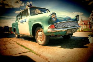 Ford Anglia 'Panda Car'... by TheBaldingOne