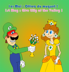 1st May with Luigi and Daisy by ZeFrenchM