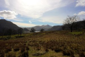 Mountains surrounding Ullswater by StuartVinton