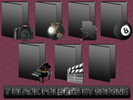 Black Folders by 0dd0ne