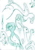 Birds and Dinosaurs by IcebergLonely