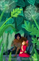 Spiller and Arrietty by animation-girl2000