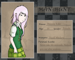 : Yoko : [MAN-HUNT Application] by East-and-West