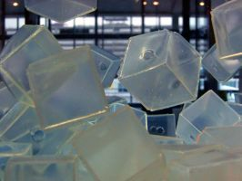 Cubes in Motion 2 by serpentesse