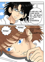 Coloring Request - Love you: Page 6 by Megane-Koishii