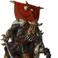 Wesnoth - Orc Sovereign by LordBobOfWesnoth