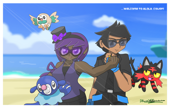 Alolan Title card (Commish for Eliyora) by DBurch01