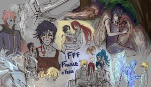 -FFF Finale Sketchdump- by KT-ExReplica