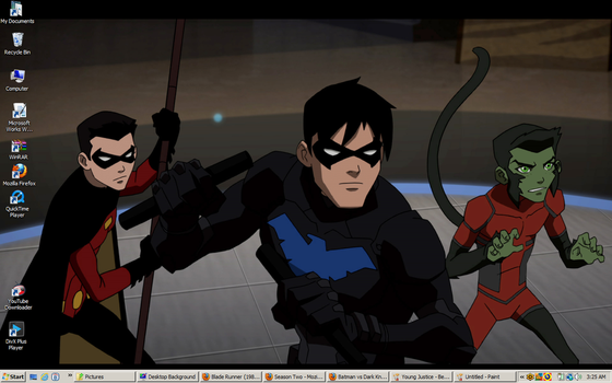 Young Justice -desktop 1 by DTWX