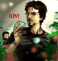 Tony the Iron Man XP by Oroken