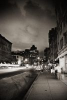 Upper westside at night 3 by stareater