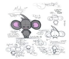 Moby the Tiny Mouse by JesseRayus