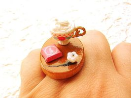 Chocolate Candy Ring by souzoucreations