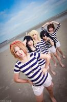 K-ON- Beach i by betobeto-san