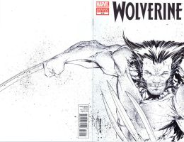 Wolverine sketchcover FOR SALE by adelsocorona