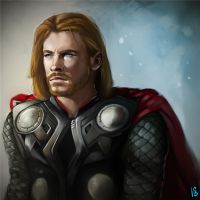 Thor by vagab0nda