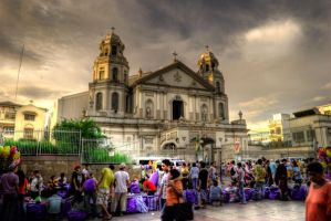 Quapo Church by japendotz07
