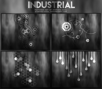 Industrial Textures Pack By Starved-soul by Starved-Soul