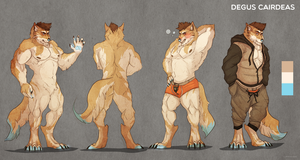 Reference sheet commission for Dat_Daren #4 by VetroW
