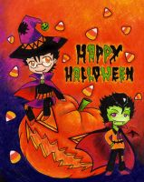 HAPPY HALLOWEENIES by zims-lost-soul