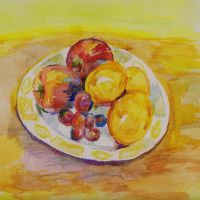 Still Life Water Colour. by 80sdisco