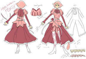 Persy outfit design by Betachan