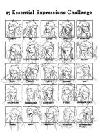 25 Expressions Challenge - Nerevar by ankalime