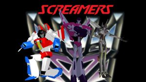 MMD: The Screamers by tuestpwned