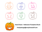 Halloween Photoshop Brush by freelydesign