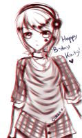 Happeh Birfday Kaiteh~ by Crescentwing23