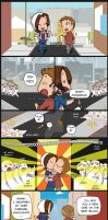 Paid Commission: Best friends and Fangirls by KamiDiox