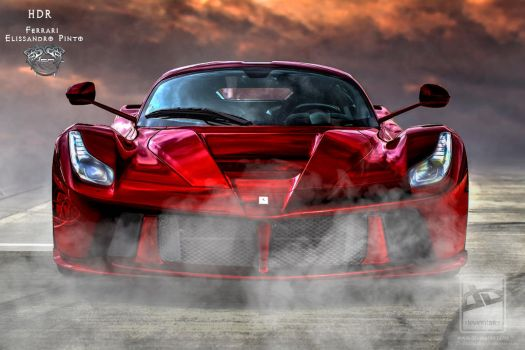 Ferrari-Red- HDR by 35-Elissandro