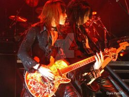 Sugizo and Heath by DaniDevilicious