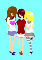 Me,Natasha and Alex MS. by kittygirlxX