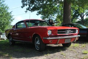 Red Fastback by SwiftysGarage