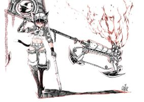 Loli +Axe chain saw by classicVII