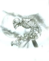 March of the Skeletons by Vaela