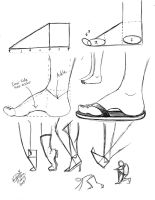 Draw Feet 1 by Diana-Huang