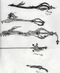 keyblades and whatnot by Free-Squall